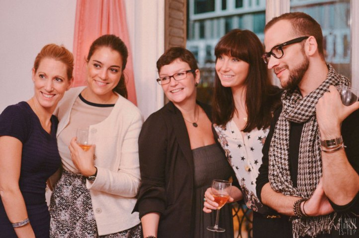 Melissa Ladd and friends pretemoiparis' party, by Meg from De Quelle Planète Es-Tu? blog
