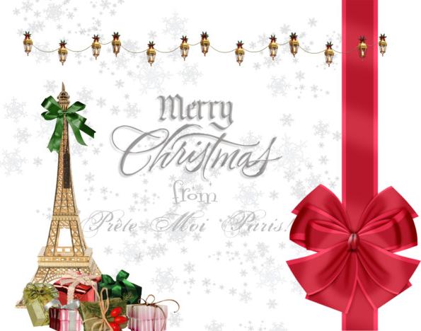 Merry christmas from prete moi paris