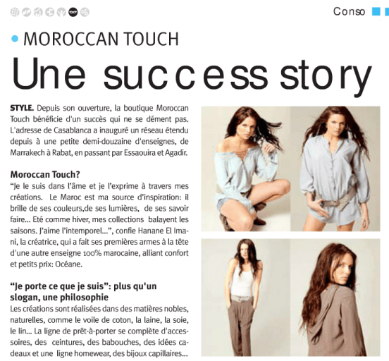 moroccan touch success story