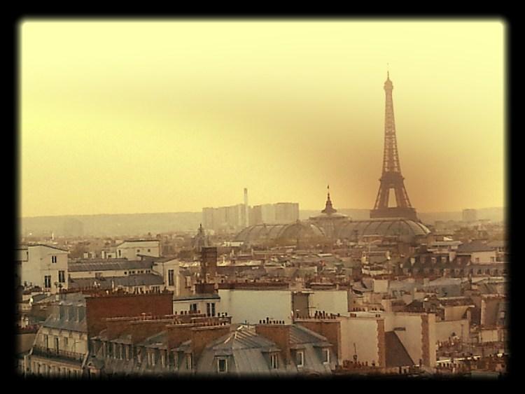Paris Postcard Eiffel Tower
