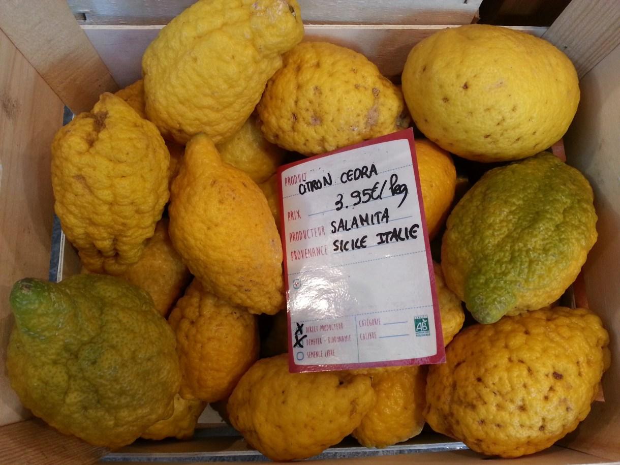 La Recolte lemons