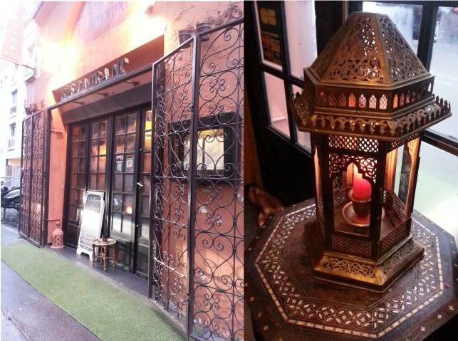 Villa Mimouna Moroccan restaurant paris 17