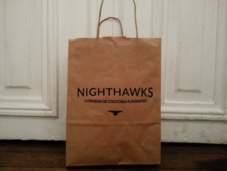 Nighthawks paris cocktail delivery