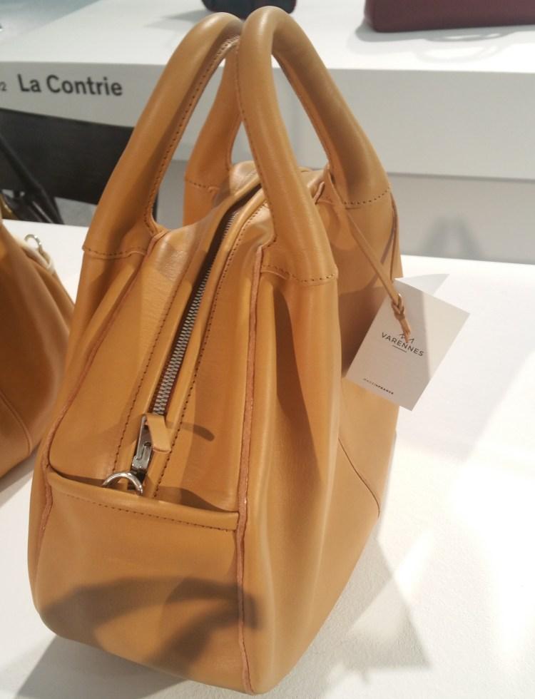 Varennes classic beige handbag