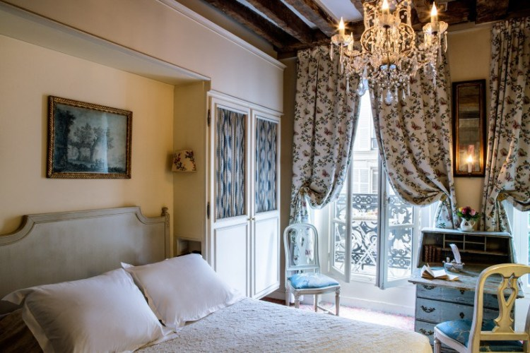 Hotel de Beaumarchais boutique hotel paris