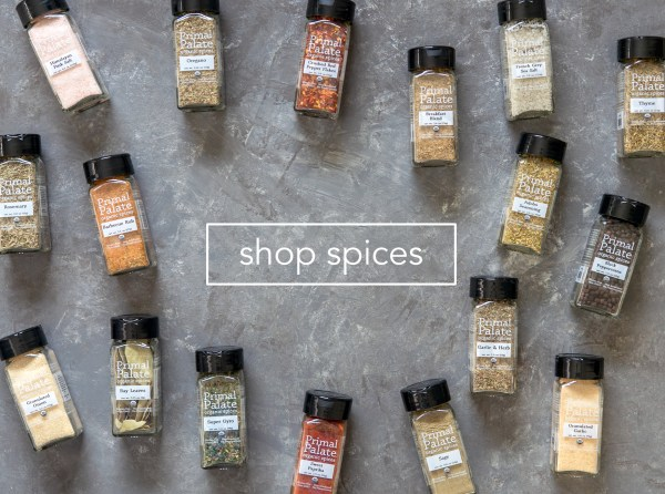 Primal Palate Organic Spices