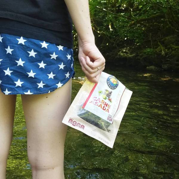 Weekends call for creek walks and pacificgoldsnacks jerky  hellip