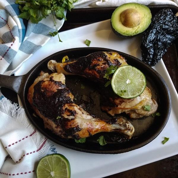 spanish braised chicken