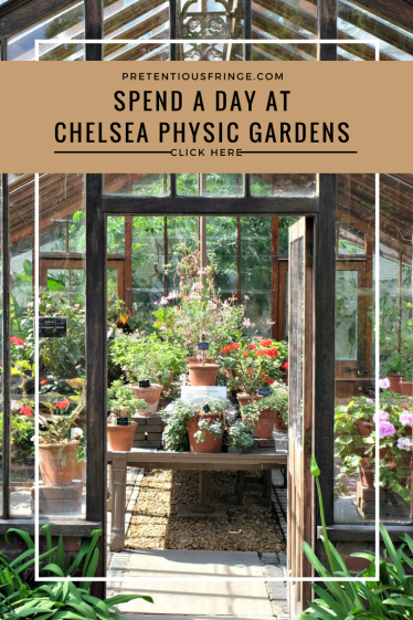 spend a day at chelsea physic gardens