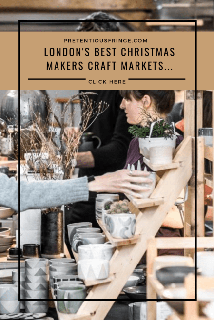 london makers markets christmas
