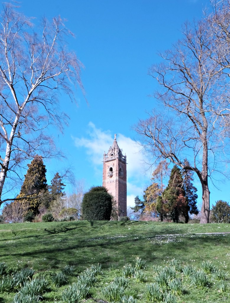 Picture of tower in clifton, bristol.  48 hours in clifton itinerary.
