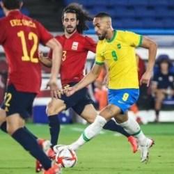 Bicampeão! Brasil vence Espanha na prorrogação e é ouro no futebol masculino