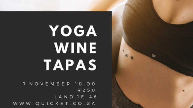 yoga wine tapas