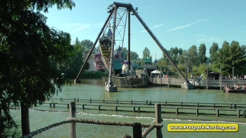 Plopsaland de Panne - De Piratenboot