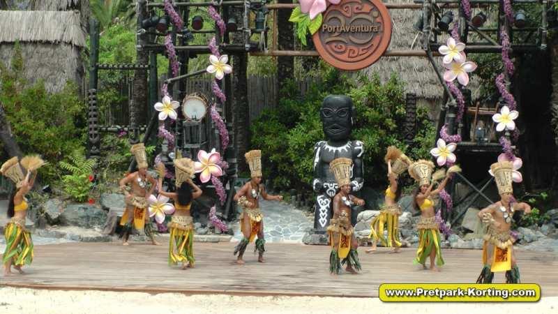 PortAventura pretpark Spanje - Live shows Aloha Tahiti
