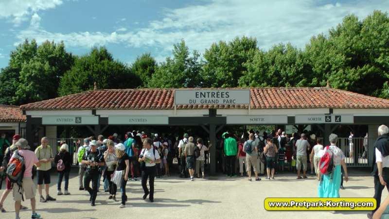 Puy du Fou entree - Kassa en tickets