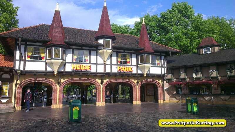 Heide-Park ticket pretpark duitsland report