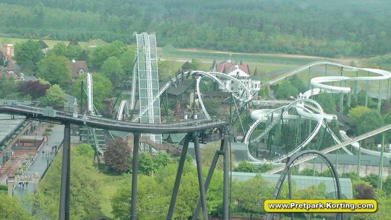 HeidePark Flug der Dämonen achtbaan