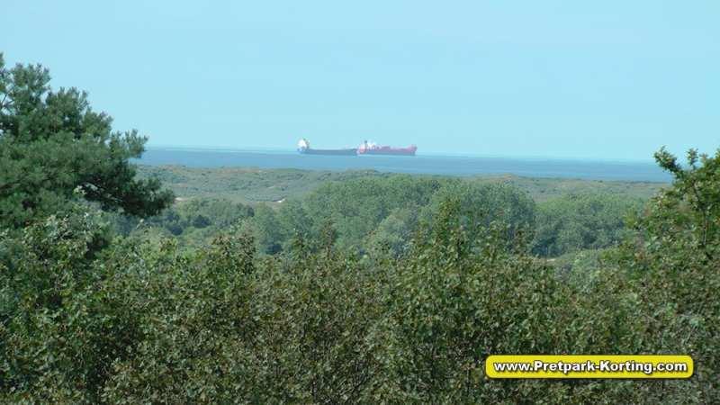 Vakantiepark Duinrell - Uitzicht uitkijktoren - Pretpark-Korting.com