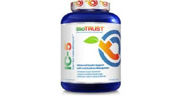 Improve Your Body's Sensitivity to Insulin with BioTrust IC-5