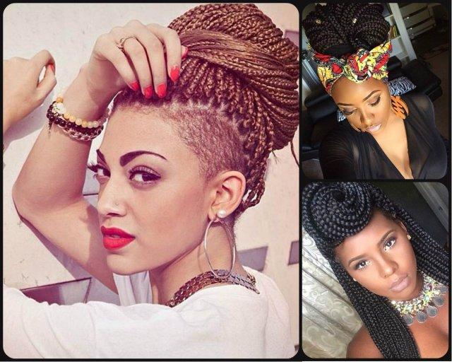 top trendy box braids hairstyles 2015   hairstyles 2017