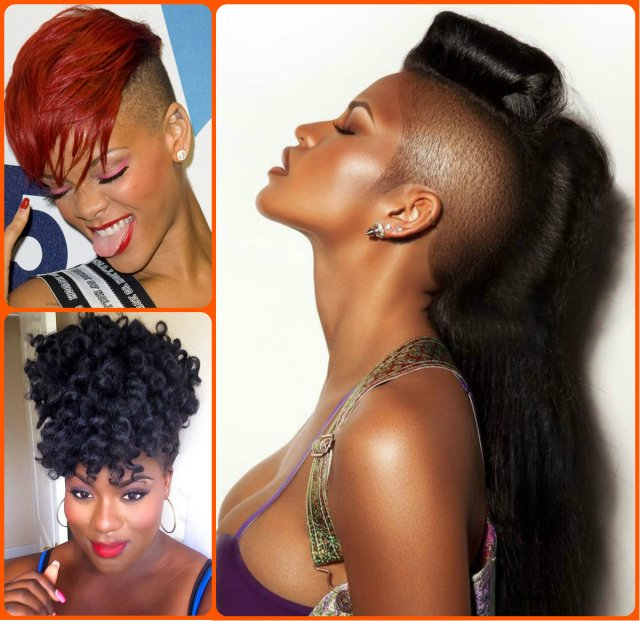 jazzy mohawk hairstyles for black women | hairstyles 2017
