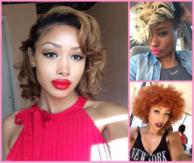 stylish short haircuts for black women | hairstyles 2017