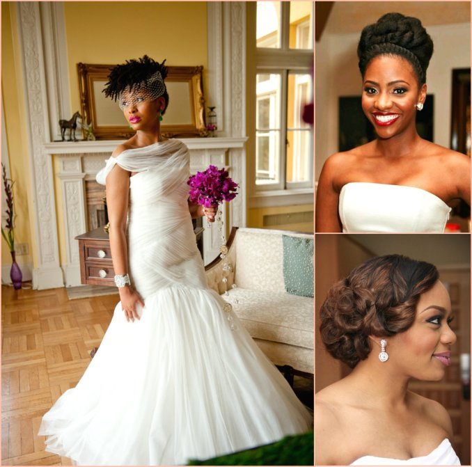 charming black women wedding hairstyles | hairstyles 2017