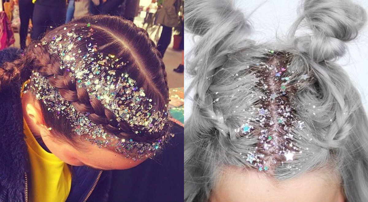 Check Out Party Glitter Roots Hair Trends 2017 Pretty