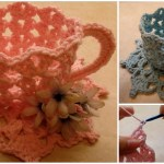 How To Crochet Decorative Teacup And Saucer Pretty Ideas