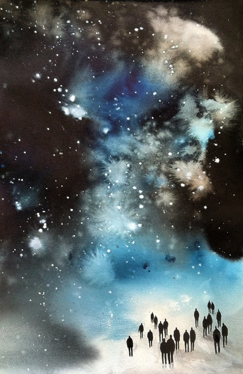 Into the Starry Night, Michelle Blade