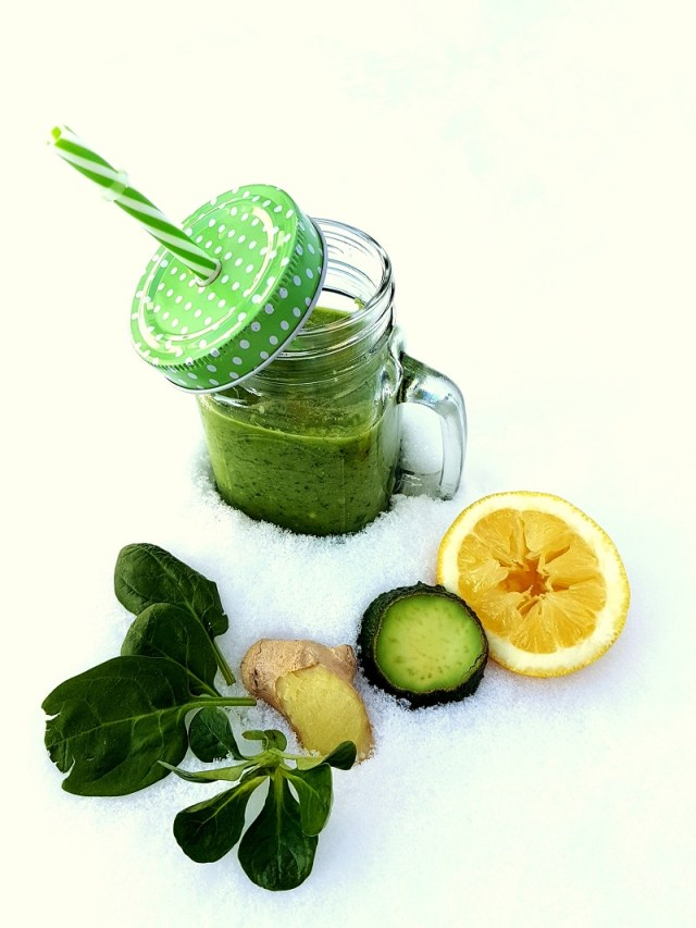Grüne Detox Smoothies