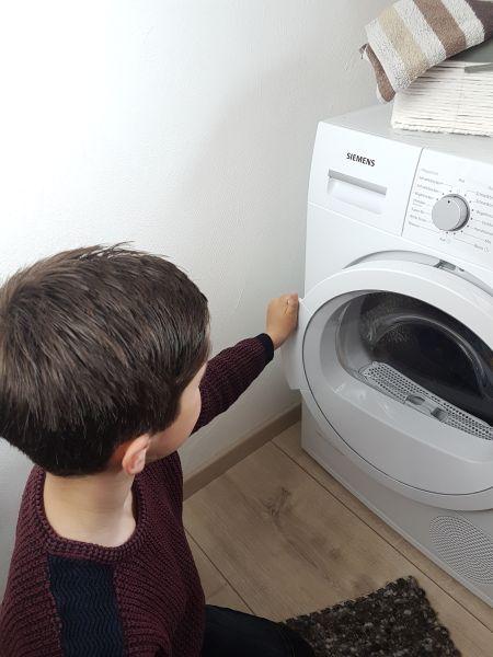 Wäsche trocknen