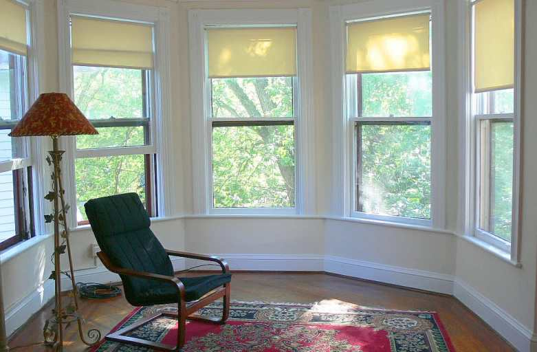 Parlor With Bay Window