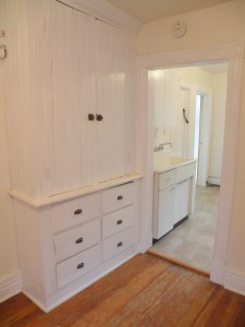 Pantry Cabinets in Victorian Apartment Schenectady NY