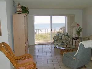 Ocean View Living Room in Cocoa Beach, FL