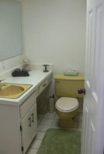 Second Bathroom in Florida Condo