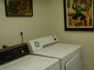 Laundry Room in Florida Condo