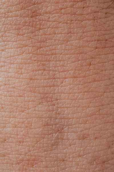 close up view of human skin