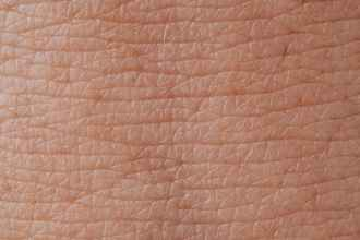 close up view of human skin