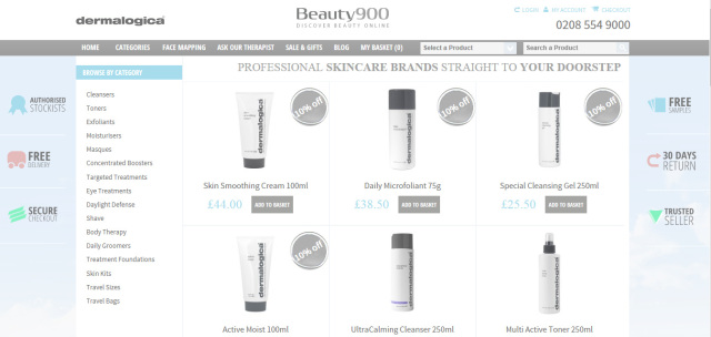 Dermalogica Skincare From Beauty900