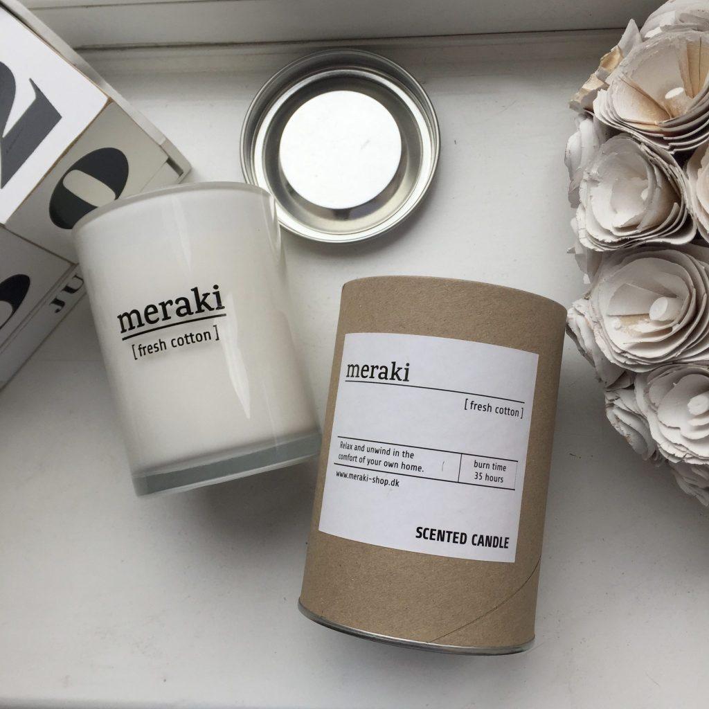 Review: MERAKI Fresh Cotton Candle From Trouva