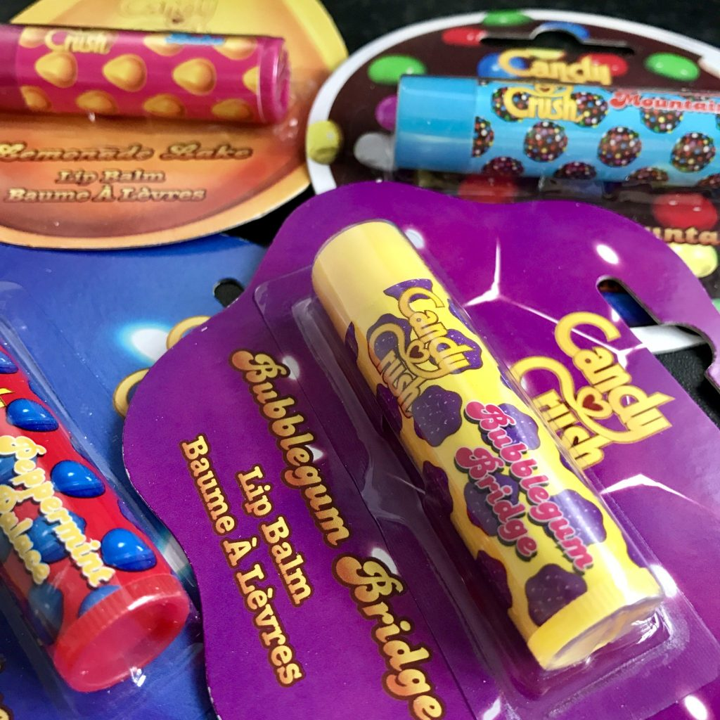 Candy Crush Lip Balms – Will you get addicted?