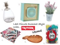 Last Minute Summer Style with TK Maxx Home