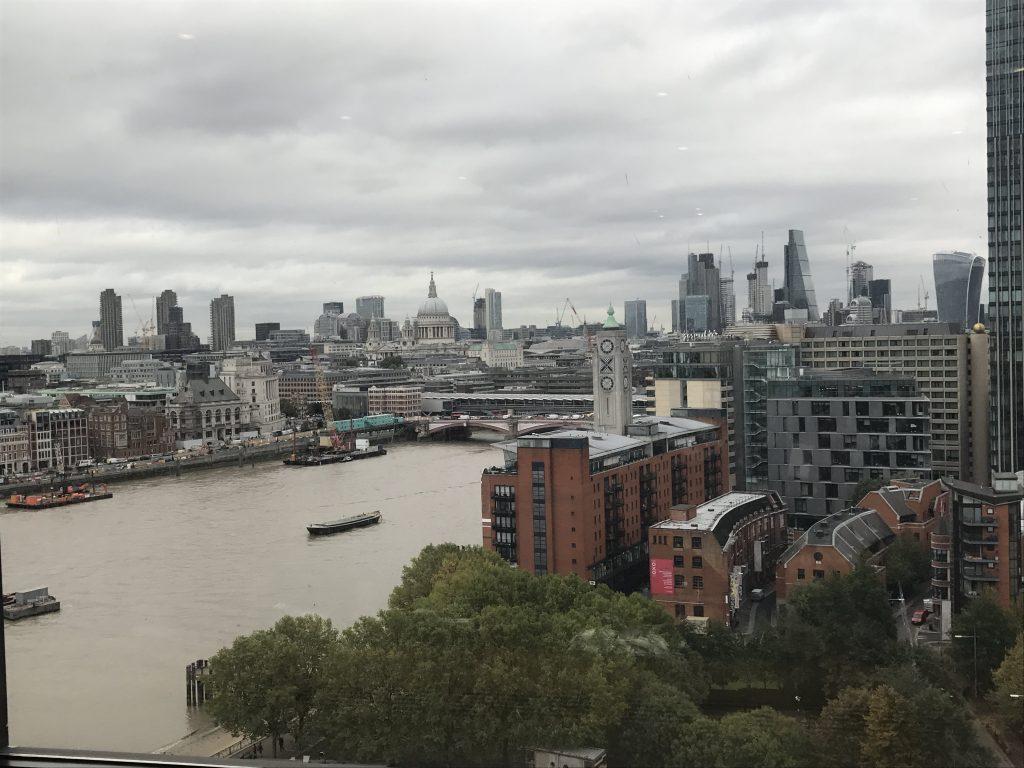 Views from ITV studios