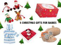 5 christmas presents for babies