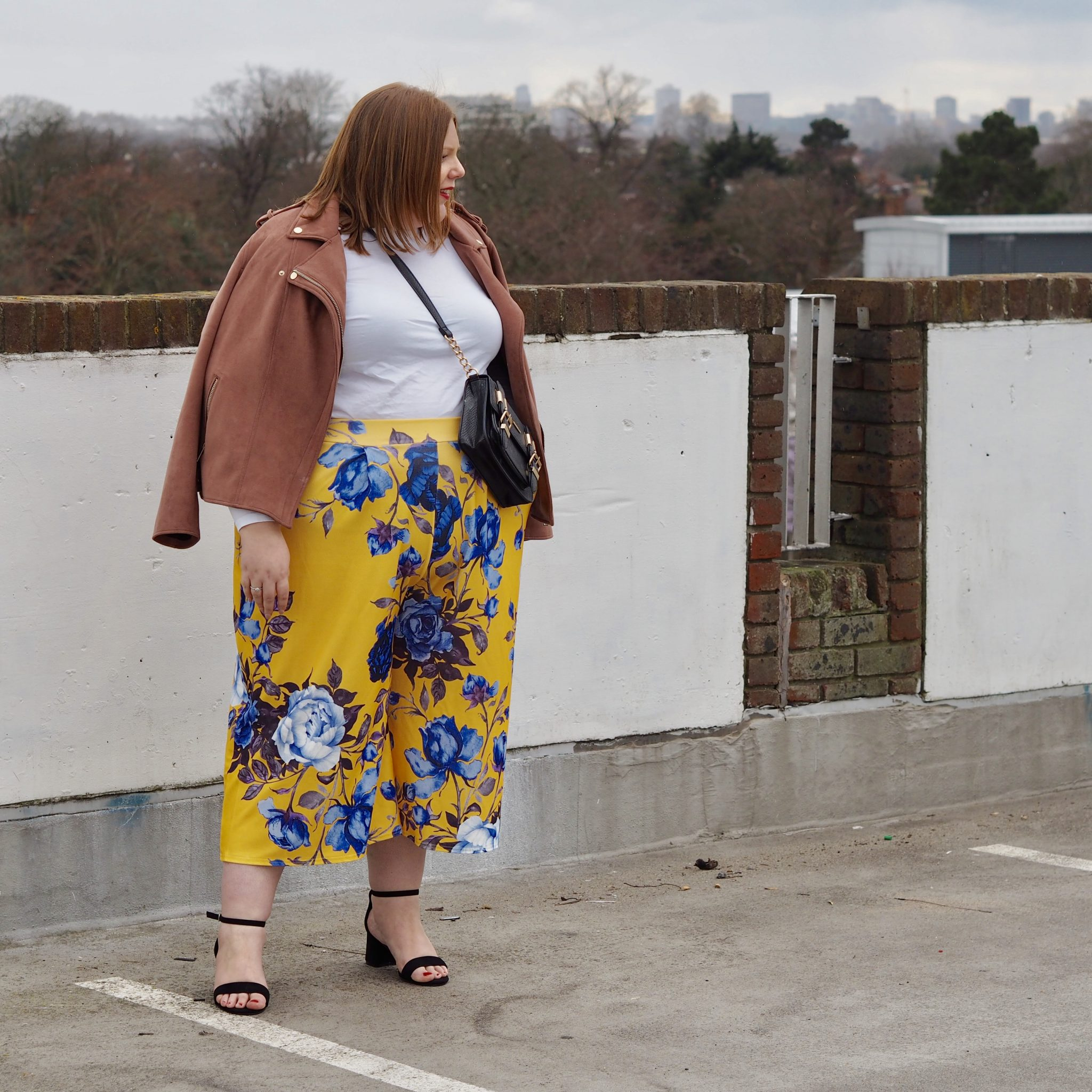 how to wear culottes - pretty big butterflies