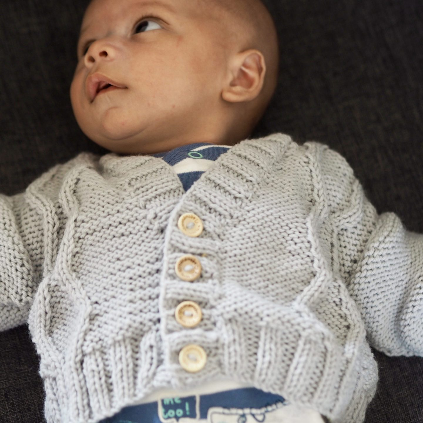 hand knitted baby cardigan free pattern