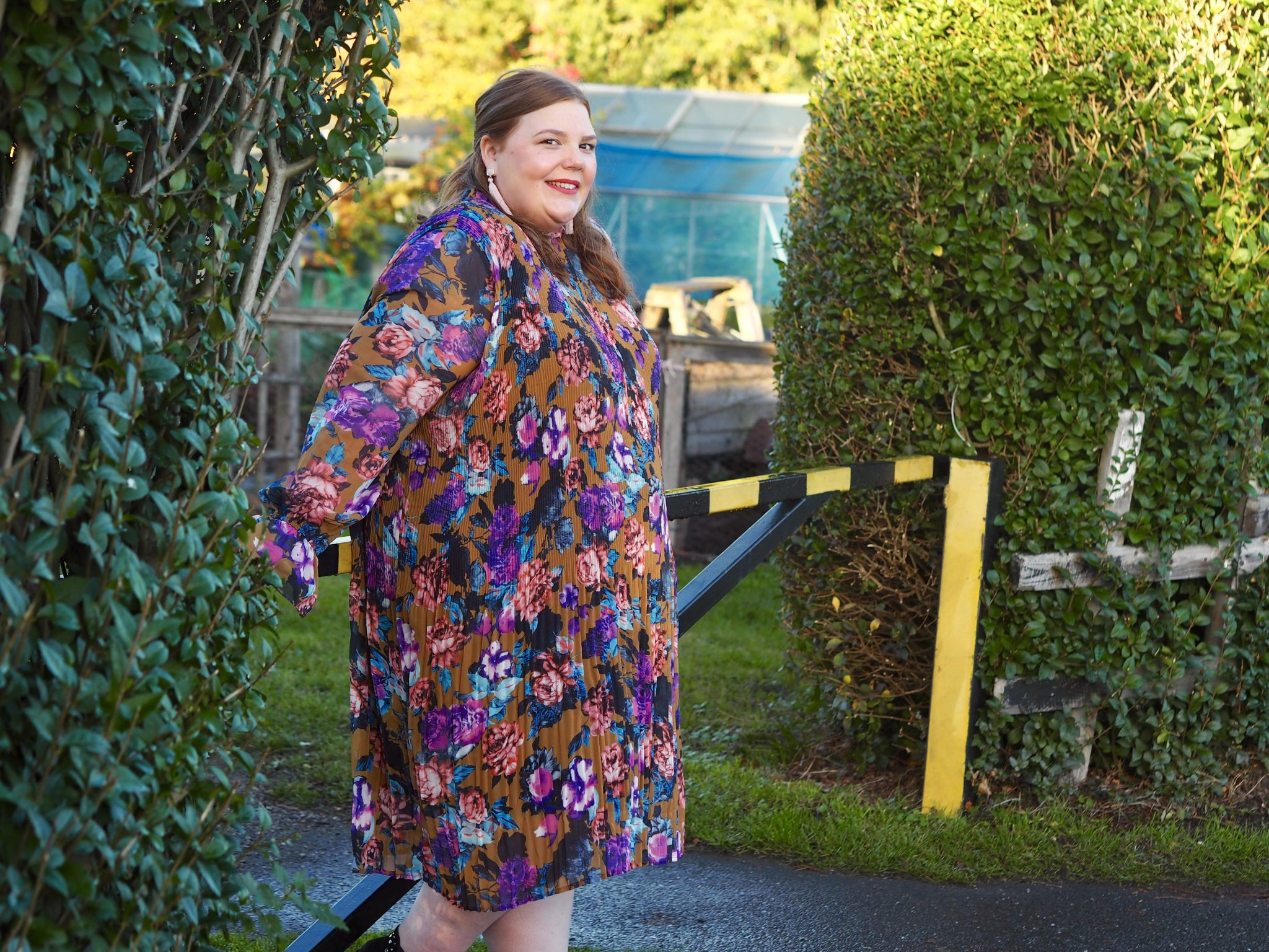 UK plus size blogger - pretty big butterflies