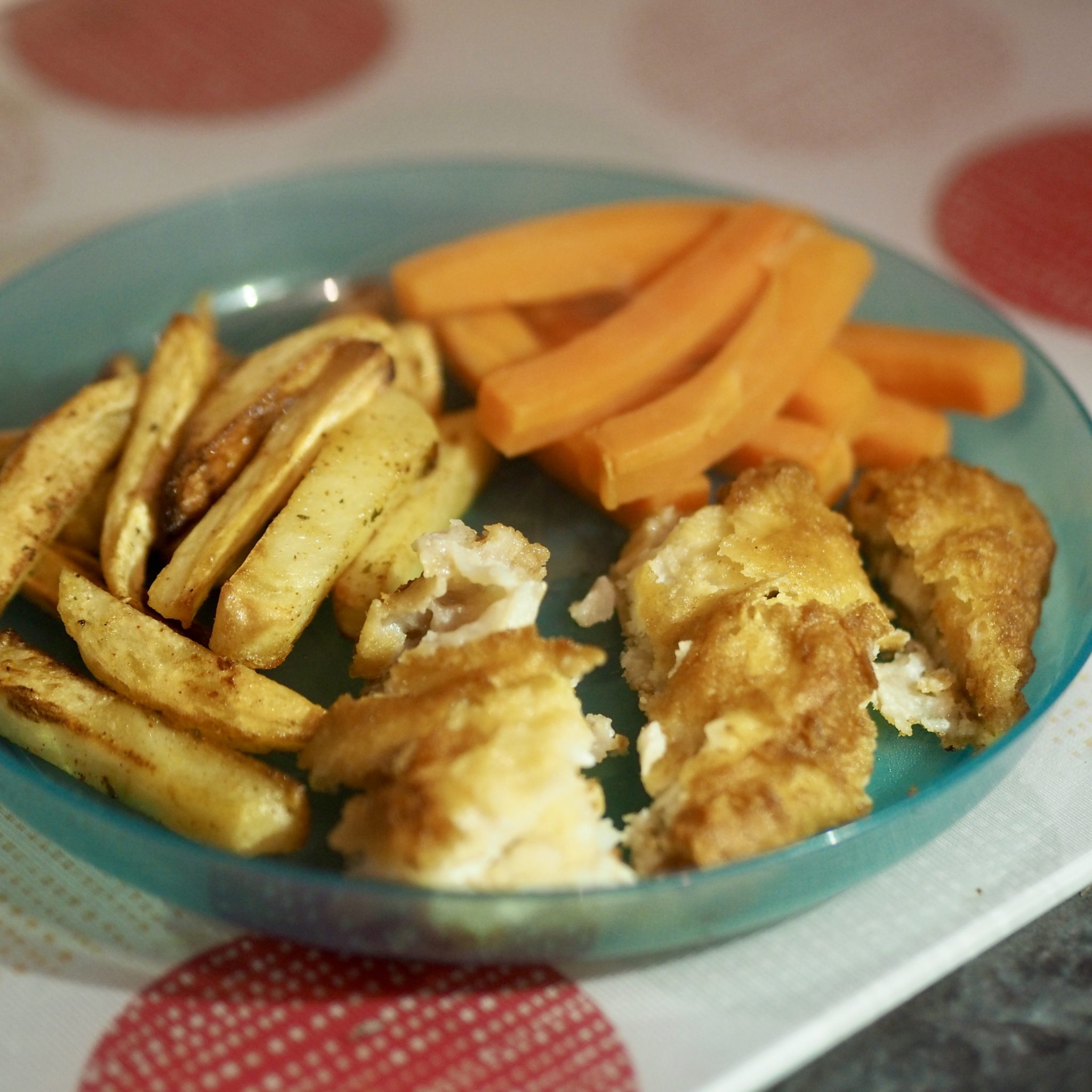 Food For Fussy Kids - Young's Cod With Vegetable Chips